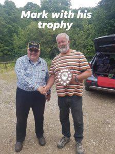 Mark Gregory - winner of the Harry Fitton Memorial Trophy 2019